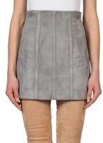 Balmain Suede Corset Skirt