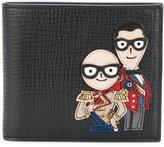Dolce & Gabbana Designer's patch wallet
