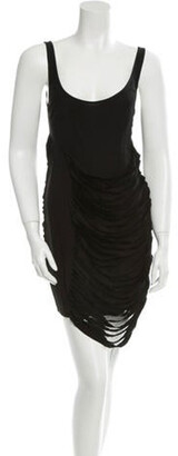 Kimberly Ovitz Moch Dress w/ Tags Black