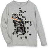 Stella McCartney Bella Cat Graphic Tee, Size 4-14