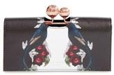 Ted Baker Women's Emeleyy Leather Matinee Wallet - Black