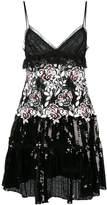 Giambattista Valli floral sequinned dress