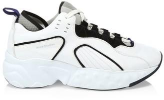 Acne Studios Rockaway Block Leather Sneakers