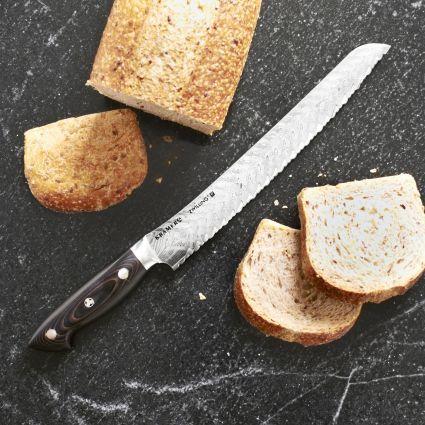"Kramer by Zwilling JA Henckels Bob Kramer 10"" Stainless Damascus Bread Knife by Zwilling J.A. Henckels"