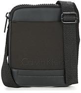 Calvin Klein Jeans CAILLOU MINI FLAT CROSSOVER Black