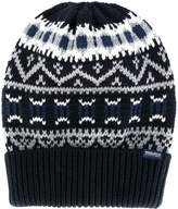 Woolrich embroidered beanie hat