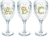 Tervis Calligraphy Vine Monogram Initial 9 oz. Wrap Wine Glass