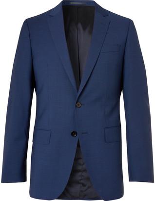 HUGO BOSS Huge Micro-Checked Virgin Wool Suit Jacket