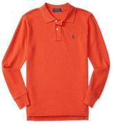 Ralph Lauren Boys 2-7 Long Sleeve Cotton Shirt
