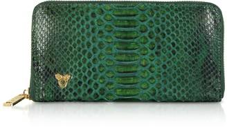 Ghibli Python Leather Continental Wallet