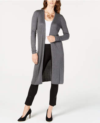 INC International Concepts Inc Ribbed Duster Cardigan