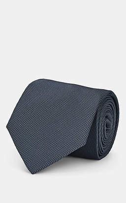Isaia Men's Silk Necktie - Gray