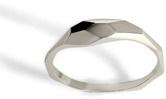 Cat Hart Jewellery Silver Geometric Ring