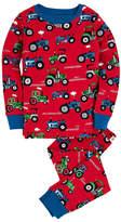 Hatley Organic Cotton Long Sleeve Printed Pajama Set (Toddler, Little Boys, & Big Boys)