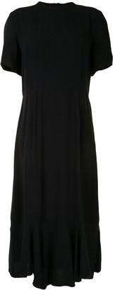 Marni Peplum-Hem Midi Dress