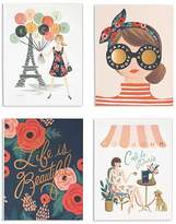 Rifle Paper Co. Paper Crown Cards, Set of 8