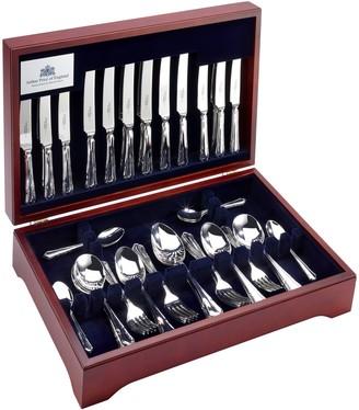 Arthur Price Dubarry Cutlery Canteen, Sovereign Silver Plated, 44 Piece