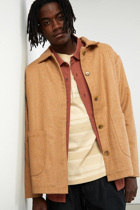 Urban Outfitters Sherpa Lined Barn Coat