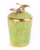 Jay Strongwater Dragonfly Trellis Candle