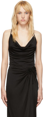 Opening Ceremony Black Cowl Neck Camisole