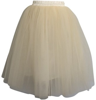 Olivia Rose Tulle Skirt Ivory Adult