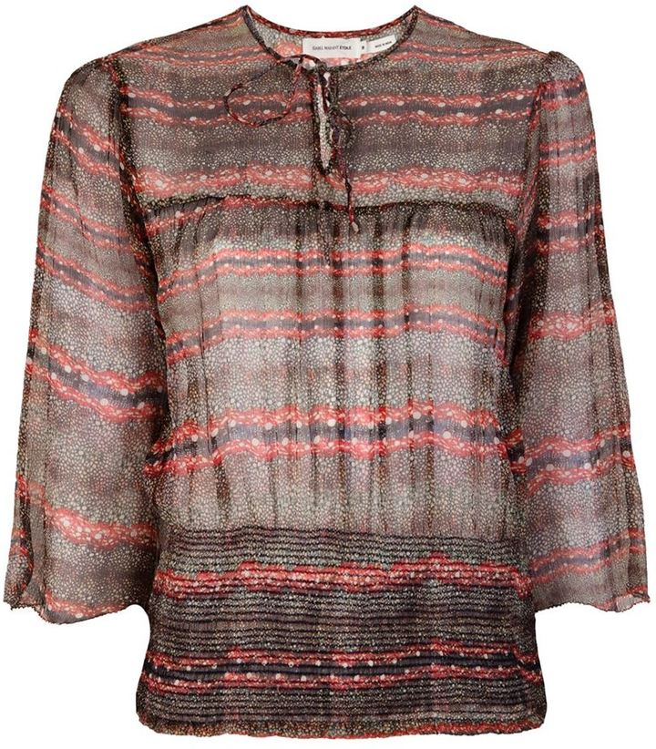 Etoile Isabel Marant silk blouse