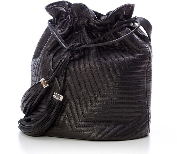 Golden Goose Deluxe Brand Black Estella Bucket Bag