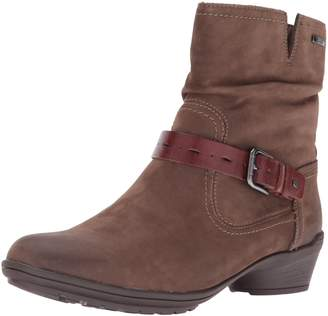 Cobb Hill Rockport Women's Raven Waterproof Riley Boot