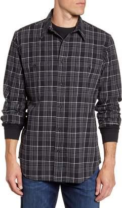 Filson Wildwood Regular Fit Plaid Button-Up Shirt