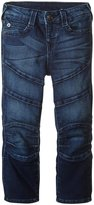 True Religion French Terry Moto Pant (Toddler/Kid) - Bruised Wash - 4
