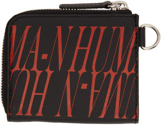 Christian Dada Black Print Wallet