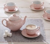 Pottery Barn Kids Pink Ceramic Classic Tea Set