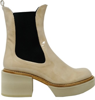 Paloma Barceló Patent Derin Boots