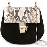 Chloé Drew shoulder bag - women - Calf Leather/Python Skin - One Size