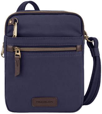 Travelon Anti-Theft Courier Small Slim Crossbody Bag