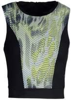 Koral Activewear Pare Crop Top Top