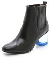 Opening Ceremony Brenda Lucite Heel Boots