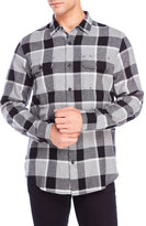 Lucky Brand Miter Plaid Flannel Shirt