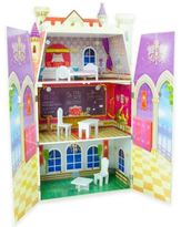 Teamson Kids Fancy Castle Doll House with Furniture