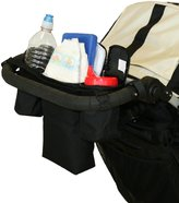 J L Childress Cups 'N' Cool Deluxe Stroller Console - Black