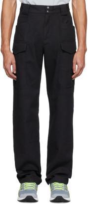AFFIX Black Combat Cargo Pants