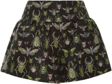 RED Valentino Insect Brocade Shorts