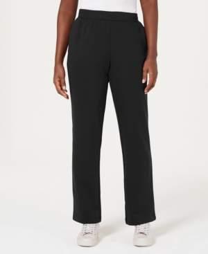 Karen Scott Sport Fleece Pull-On Pants, Created for Macy's