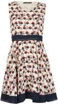Closet *Tenki Cream Geometric Circle Dress