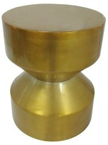 Threshold Hour Glass Accent Table Gold