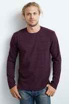 Newton Stripe Long Sleeve Tee