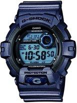 Casio Men's G-Shock G8900SH-2 Blue Plastic Quartz Watch with Digital Dial
