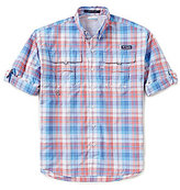 Columbia PFG Super Bahama Plaid Shirt
