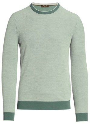Loro Piana Falkville Bicolor Sweater