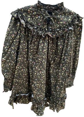 Marc Jacobs Khaki Cotton Dresses